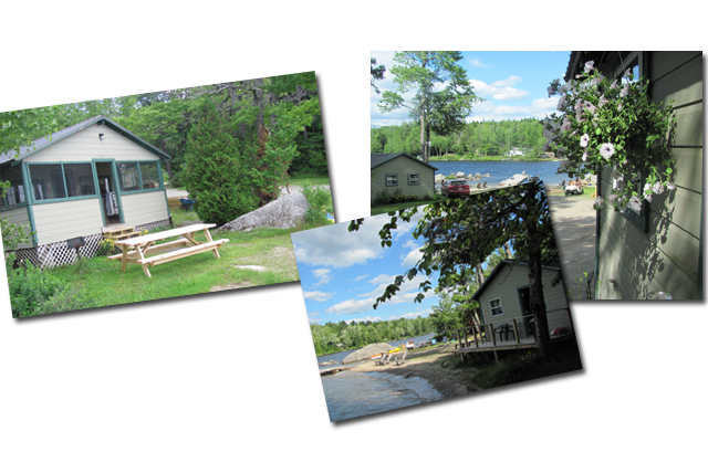 Cowgers Lakefront Cabins East Grand Lake Maine
